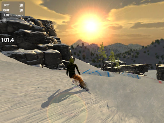 Скачать Crazy Snowboard Free