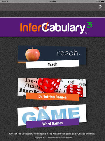 InferCabulary 3
