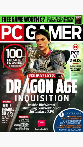 PC Gamer UK : the world's number one PC gaming magazine