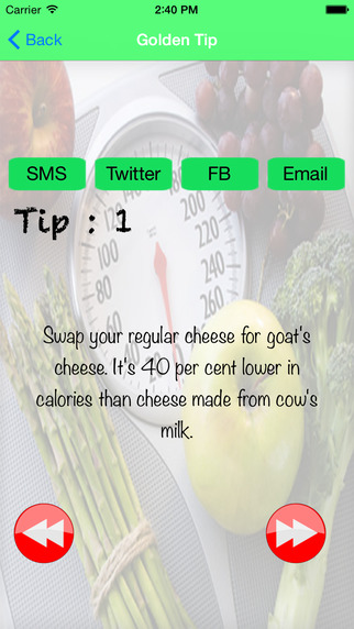 WeightLoss Tip and fit