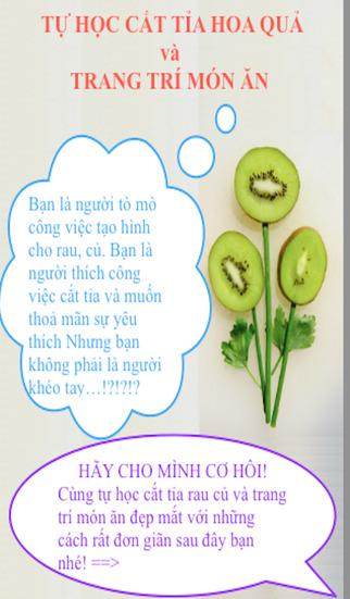 D.I.Y - Tia Hoa Va Trang Tri Mon An