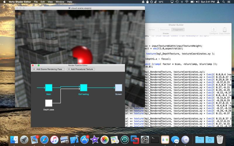 Verto Shader Editor Screenshot - 4