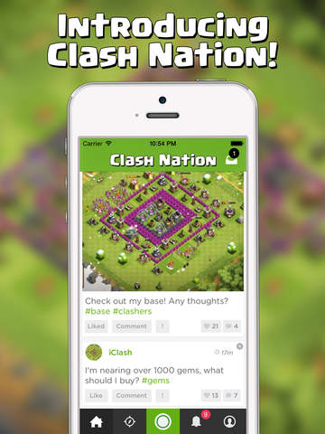 Clash Nation - Community for Clash of Clans! Wiki, Builder, Tips & More screenshot