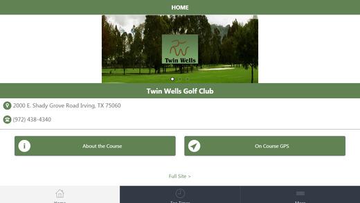 Twin Wells Golf