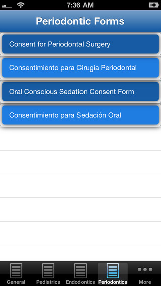 Dental Consent Forms