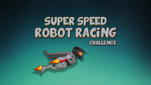Super Speed Robot Racing Challenge - awesome air flying battle game