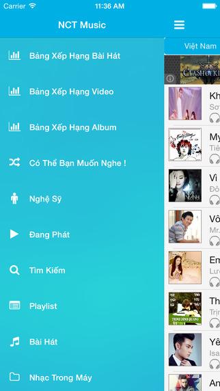 NCT Music App for NhacCuaTui
