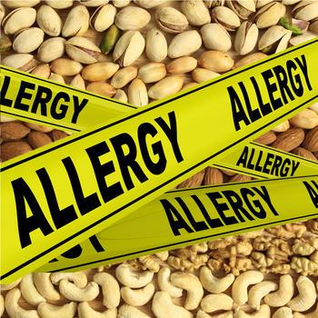 I Have a Nut Allergy International Translation HD LOGO-APP點子