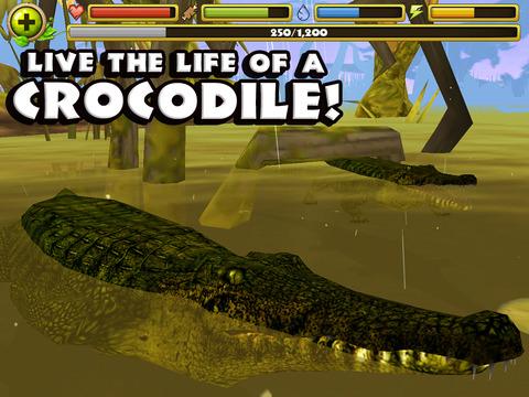 Wildlife Simulator: Crocodile 遊戲 App-癮科技App