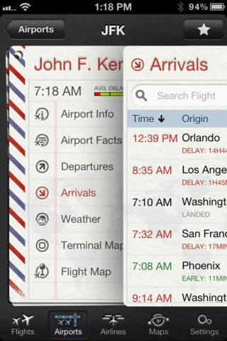 The Flight Tracker Pro screenshot 2