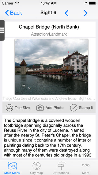 免費旅遊App|Lucerne Map and Walks, Full Version|阿達玩APP
