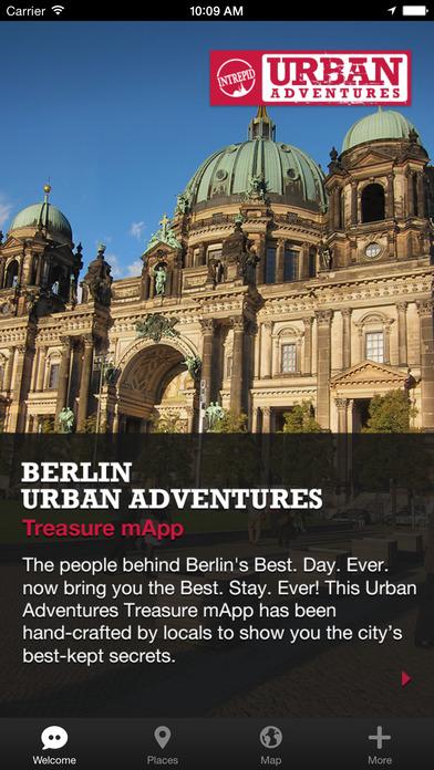 Berlin Urban Adventures - Travel Guide Treasure mApp