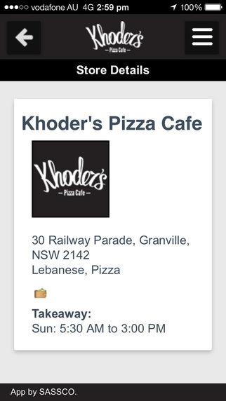 Khoder's Cafe