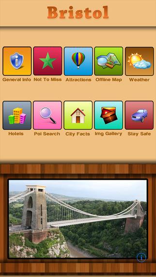 Bristol Offline Map Travel Guide
