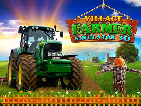 玩免費遊戲APP|下載Village Farmer Simulator 3D app不用錢|硬是要APP