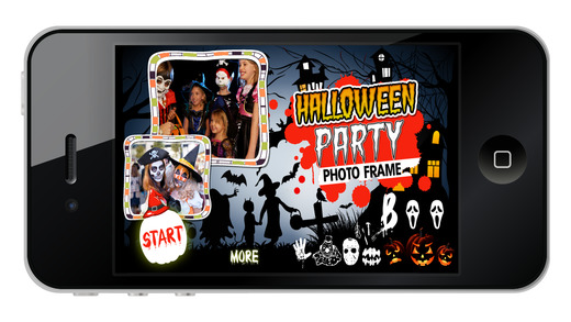 Halloween Party Photo Frame