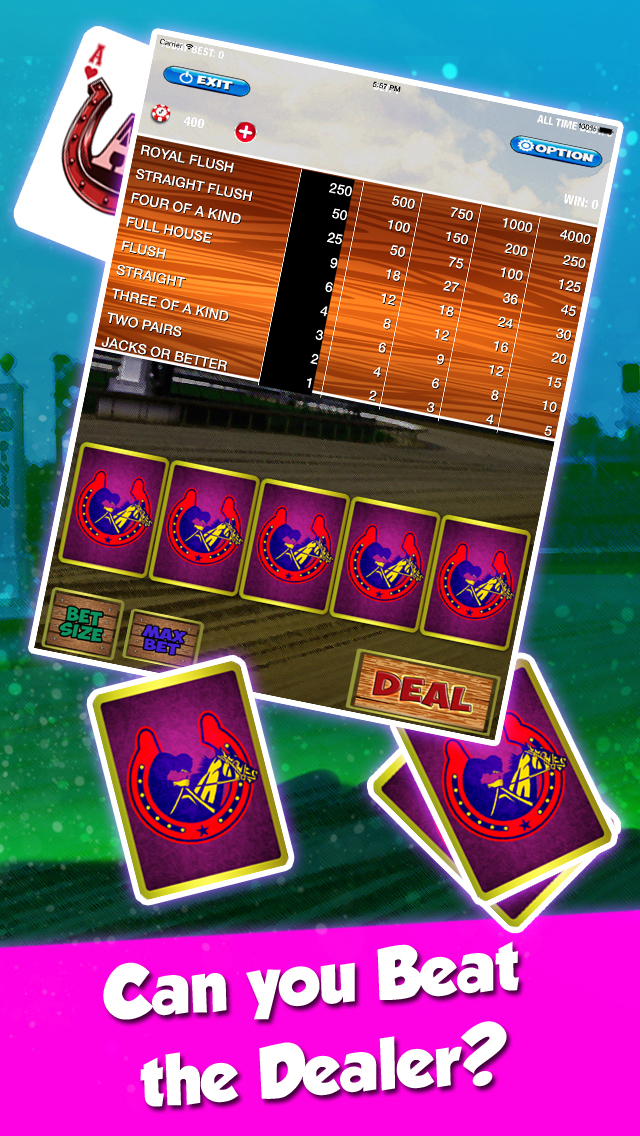 jumers casino video poker