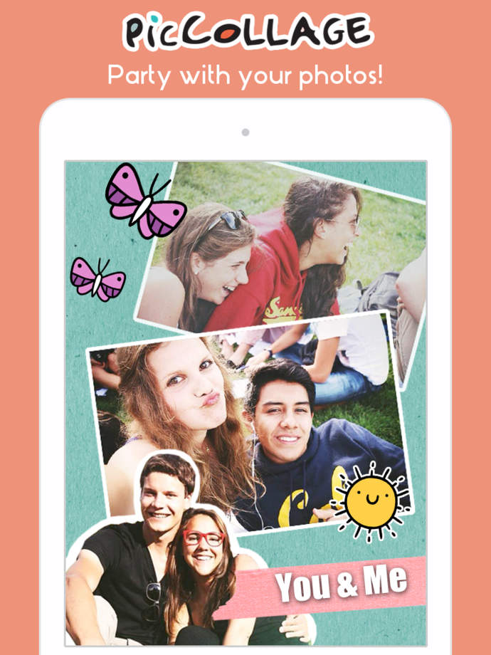 Pic Collage - Video & Photo editing in a snap - iPhone Mobile Analytics and App Store Data