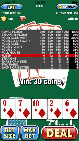 AAA Aced Royal Flush Video Poker