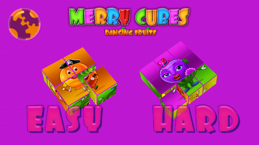 Merry Cubes HD - 3d cube puzzles to develop fine m