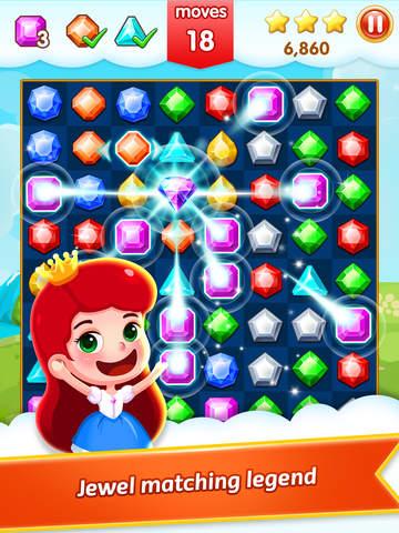 Jewel Legend HD - Jewel Match 3 Games