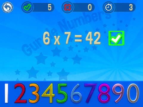 Gurgle Numbers for iPad