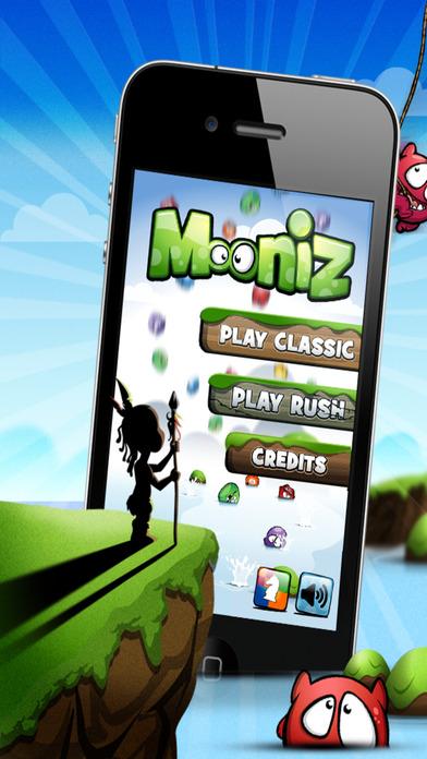 Mooniz Pro - Касание и сочетание маленьких лунных монстров с друзьями Screenshot