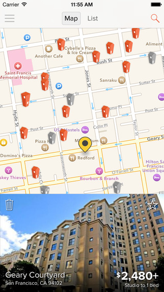 HotPads Rentals - Find Apartments Homes for Rent