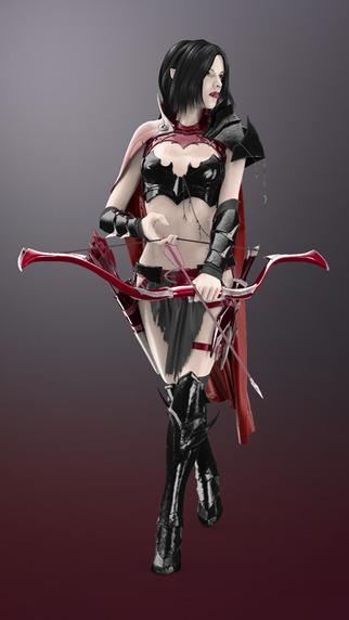 Figuromo Artist : Dark Elf - 3D Color Combine Design Fantasy Sculpture