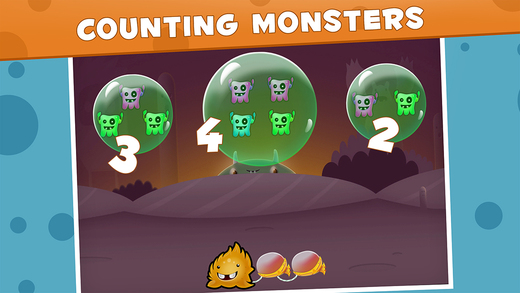 Learn Math Series : Wicked Monsters Teach Maths to 2 Year olds Montessori FREE