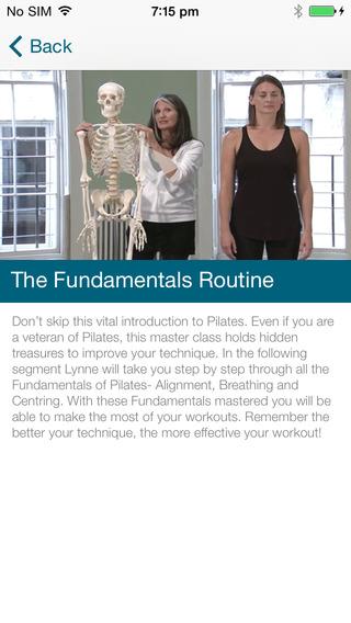 Body Control Pilates with Lynne Robinson