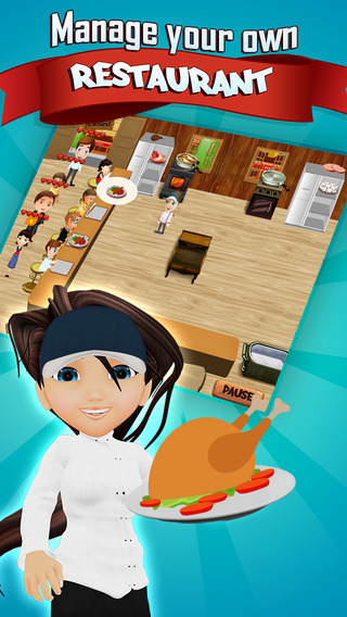 Super Chef Food Academy: Rising Tycoon Pro