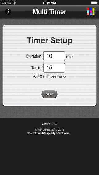 Multi Task Timer