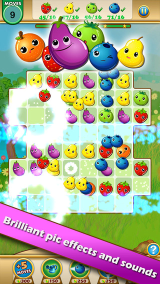 Fruit Legends™ - Free match-3 splash game(200+ levels)! on the App ...