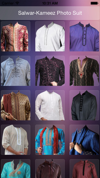 Salwar Kamez Suit Photo Maker