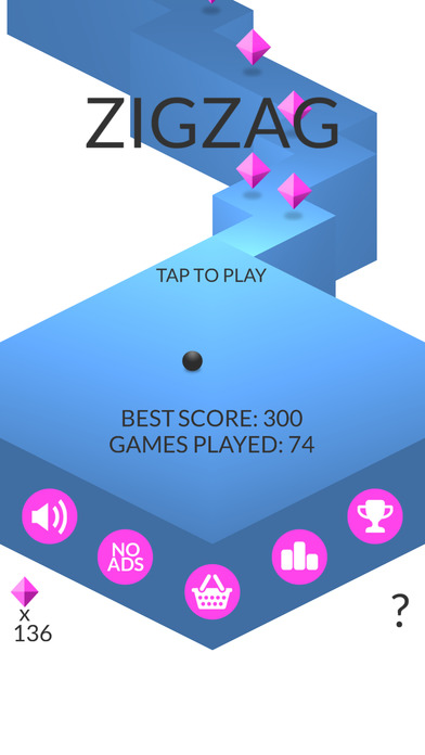 Screenshots of ZigZag for iPhone