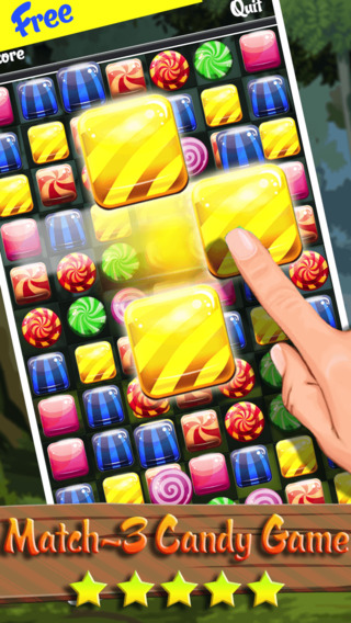 Heroes Of The Candy Forest - Match-3 Puzzle And Logic Game Mania