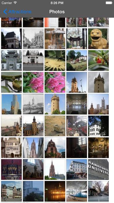 Frankfurt Travel Guide Offline iPhone Screenshot 1