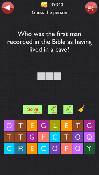 Bible Trivia - Study, Learn Christian Bible Verses while Playing Quiz, test to grow faith with God. Guess Jesus quotes and more iPhone Screenshot 3