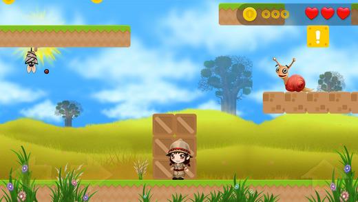Jungle Adventures - Jump Girl