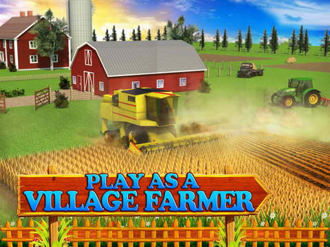 玩免費遊戲APP|下載Village Farmer Simulator 3D app不用錢|硬是要APP
