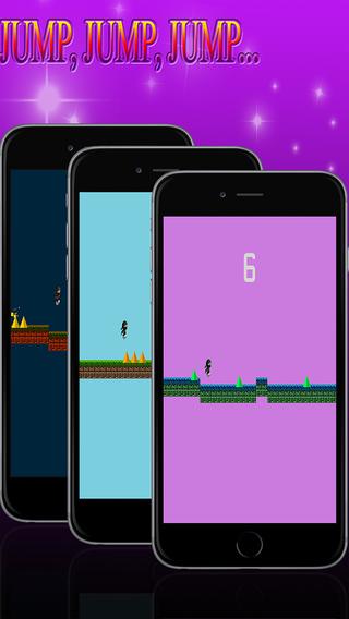 Ninja Jump Bounce: an amazing incredible fun adventure game