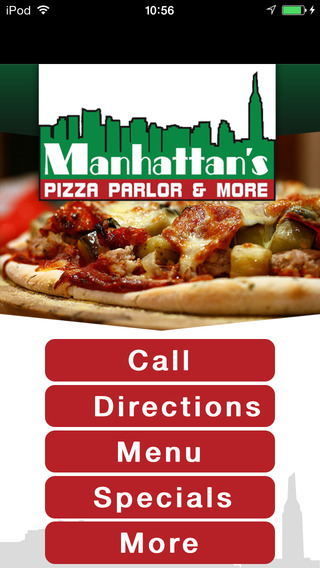 Manhattans Pizza Parlor More.