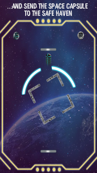 Space Breakout! Shoot Spaceteam Ball to Save from Hand of God Screenshots