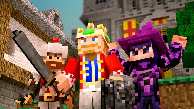 Fallen Kingdom - Parody Multiplayer Game With Ultimate Minecraft Skins Uploader