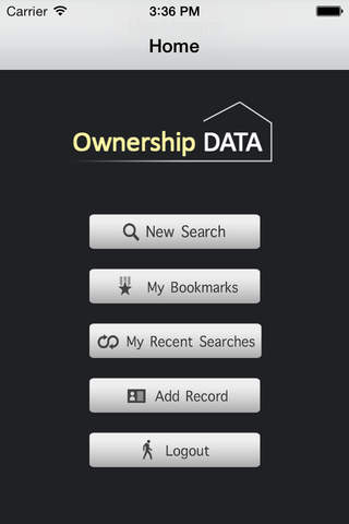 Ownership Data screenshot 3
