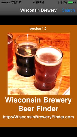 Wisconsin Brewery Beer Finder