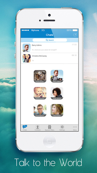 TokensApp Free Chat Messenger