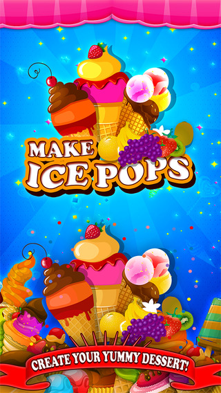 Make Ice Pops - Free Ice Cream Fair Food Pop Maker