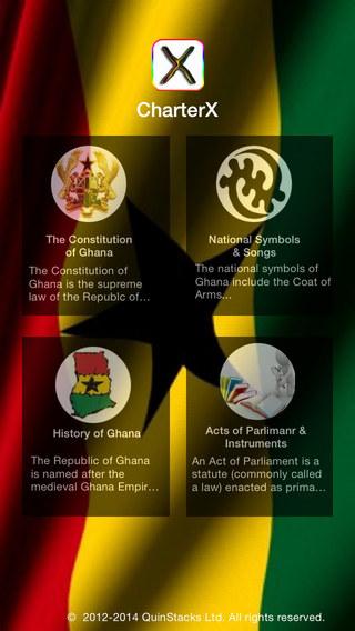 CharterX Laws of Ghana